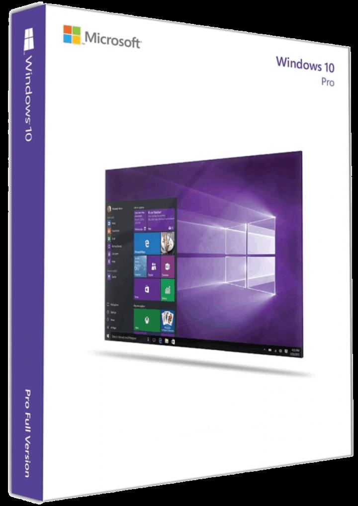 Microsoft Windows 10 Professional 2 Download
