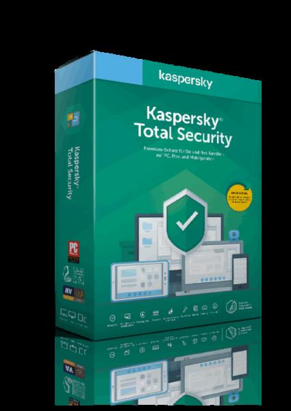 Kaspersky Total Security 2021 1 Jahr 1 Gerät