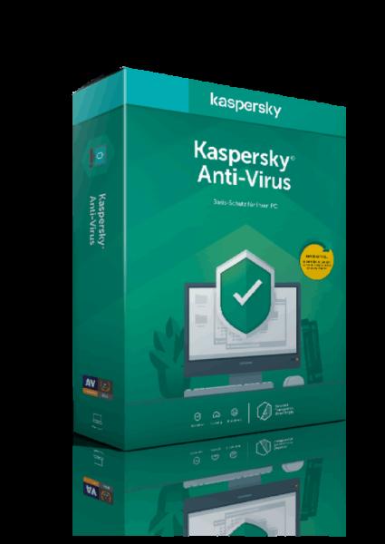 Kaspersky Anti-Virus 2021 1 Jahr 1 Gerät