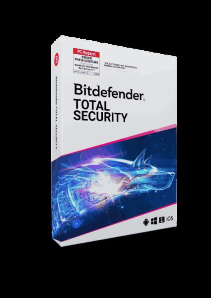 Bitdefender Total Security 2021 1 Jahr 1 Gerät