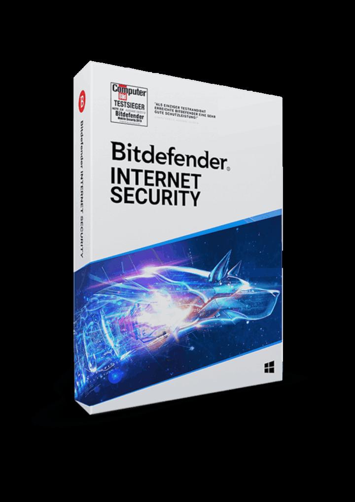 Bitdefender Internet Security 2021 1 Jahr 1 Gerät