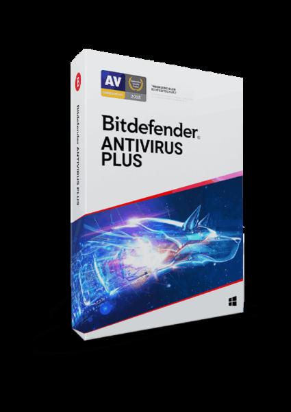 Bitdefender Antivirus Plus 2021 1 Jahr 1 Gerät