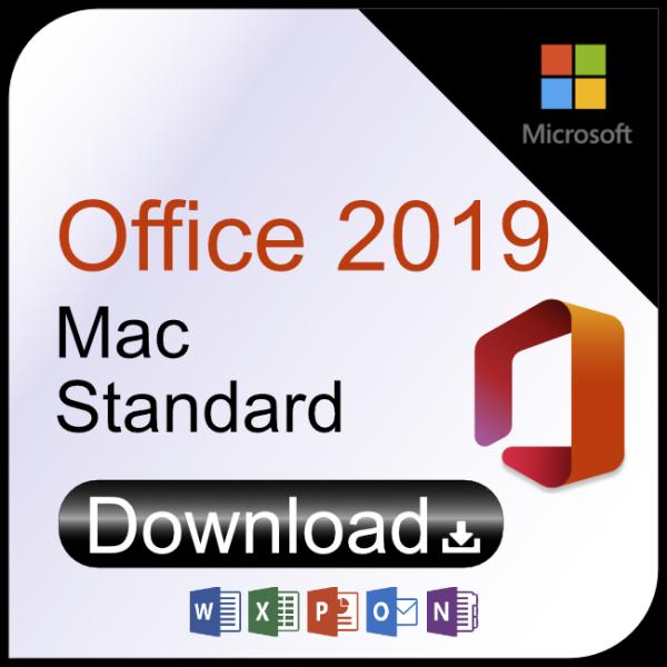 Microsoft Office 2019 Mac Standard 5 Geräte Download