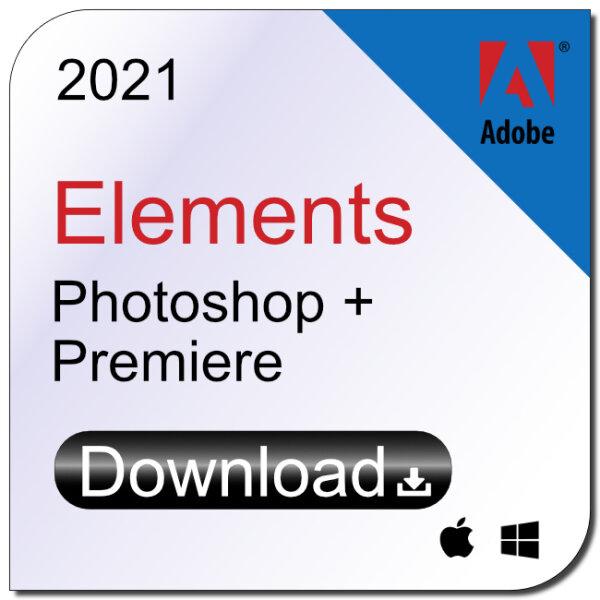 Adobe Photoshop und Premiere Elements 2021 Download